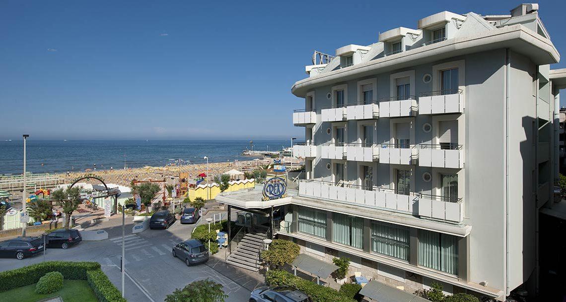 Ecohotel a Riccione: Hotel Rex un hotel ecologico direttamente sul mare