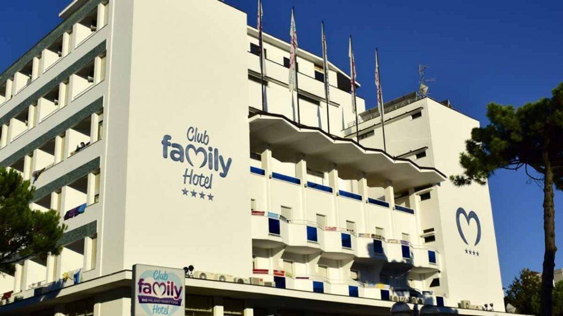 Club Family Hotel 4 stelle a Milano Marittima